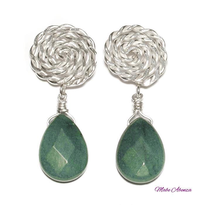 Pendientes de jade 700