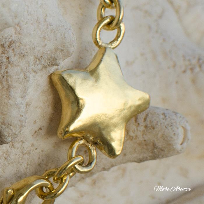 Estrellas de plata detalle